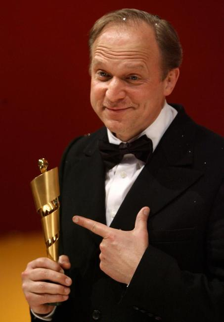 Ulrich Tukur at the 56th edition of the German Film Prize awards.